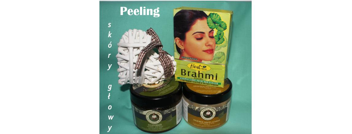 Peeling skóry głowy – drugi wariant dla Brahmi