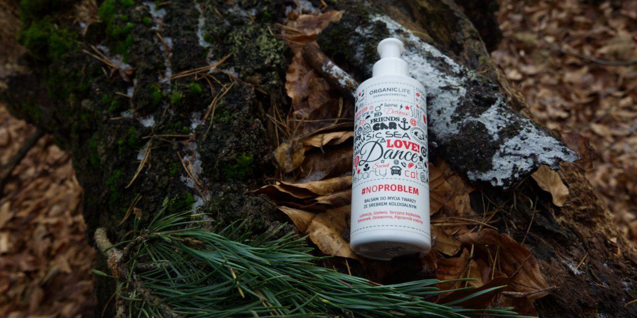 Balsam do mycia twarzy ze srebrem koloidalnym